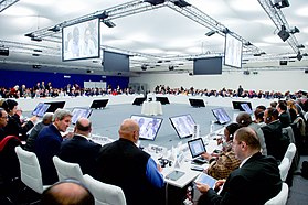 Secretary Kerry Joins Plenary Session of the COP21 Climate Change Conference (23581886671).jpg