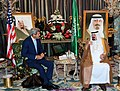 Secretary Kerry Meets with Saudi King Abdullah (15024220949).jpg