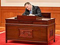 Secretary Pompeo Signs the Guest Book at the Blue House in Seoul (27916633577).jpg