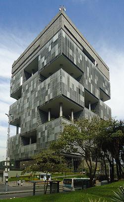Edifício-sede da Petrobras no Rio de Janeiro.