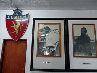 Albion F.C. - Hall of trophies in Montevideo.