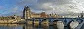 Pont Royal med Louvre