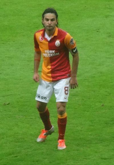 8c03dd5bf7d İnan in a September 2012 match against Akhisar Belediyespor