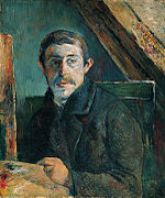 Self-Portrait by Paul Gauguin, 1885.jpg
