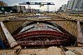 Self-propelled Formwork for Metro Station in Moscow. Мобильная опалубка для строительства станции метро в Москве.jpg