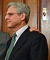 Senator Harry Reid met with Supreme Court nominee Merrick Garland (25772130711) (cropped to Garland).jpg