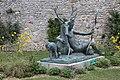 Senlis (Oise), statue of Diana.JPG