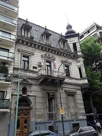Argentina–Serbia relations - Embassy of Serbia in Buenos Aires