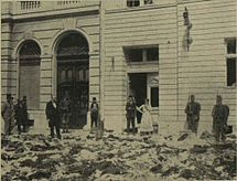 Serbian tailor's premises plundered after riots.jpg