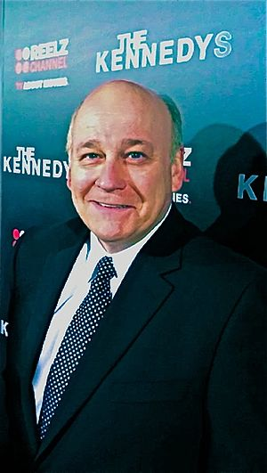 Serge Houde - Houde at The Kennedys premiere at the Samuel Goldwyn Theater in Beverly Hills, California, March 2011