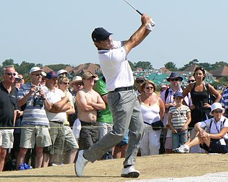 Seve Ballesteros - Ballesteros at the 2006 Open Championship
