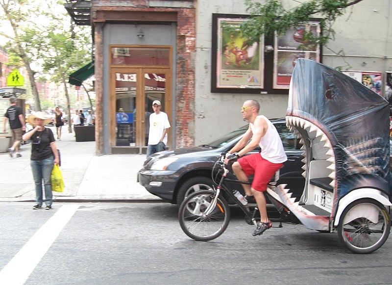shark pedicab