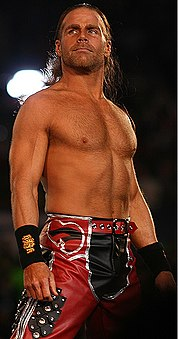 Shawn Michaels w 2008 na gali WrestleMania XXIV