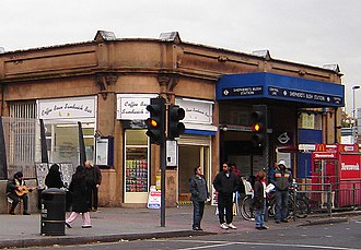 Shepherd's Bush tube station - Image: Shepherds bush tube station 1