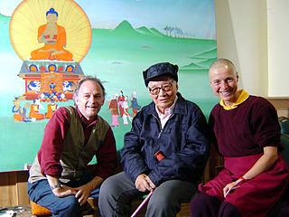Sherab Palden Beru Tibetan artist