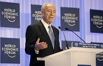 DEAD SEA/JORDAN,17MAY09 -Shimon Peres, Presedi...