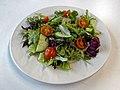 Side salad at Sainsbury's Low Hall, Chingford, London 1 angle view.jpg