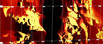 Side scan sonar waterfall display from the Dragon Prince deep tow fish.jpg