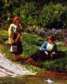 Sidney Richard Percy - A Rest on the Roadside - detail.jpg