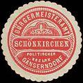 Siegelmarke Bürgermeisteramt Schönkirchen W0327874.jpg