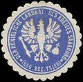 Siegelmarke Der K. Landrat des Kreises Saarburg Reg. Bezirk Trier W0385442.jpg