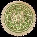 Siegelmarke Königlich Preussische Oberförsterei - Morschen W0262765.jpg