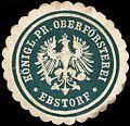 Siegelmarke Königlich Preussische Oberförsterei Ebstorf W0220128.jpg