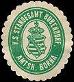 Siegelmarke Königlich Sächsisches Standesamt Bubendorf - Amtshauptmannschaft Borna W0252094.jpg