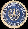 Siegelmarke Kanzlei - Königliche Eisenbahn Direction zu Frankfurt am Main W0219659.jpg