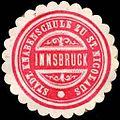 Siegelmarke Städtische Knabenschule zu St. Nicolaus - Innsbruck W0246963.jpg