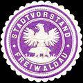 Siegelmarke Stadtvorstand Freiwaldau W0319537.jpg