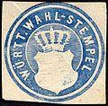 Siegelmarke Württembergische Wahl - Stempel W0227398.jpg