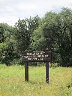 Harshaw, Arizona Populated Place in Arizona, United States