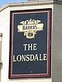 Sign for The Lonsdale, Sunbury Avenue - geograph.org.uk - 1388753.jpg