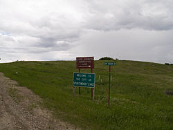 Sign in Spiritwood Lake, North Dakota 6-9-2008.jpg