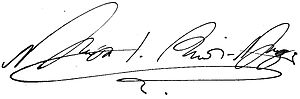 Nikola I Petrović-Njegoš - Image: Signature of Nicholas I Petrović Njegoš