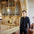 Silbermannorgel in der Georgenkirche Rötha - Kantor und Organist.jpg