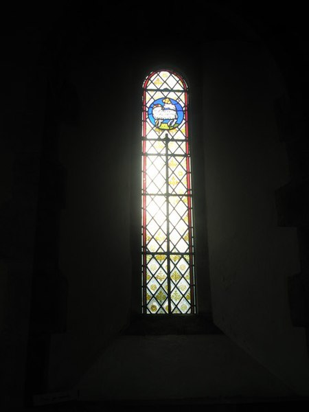 Window Glass: Simple Stained Glass Window