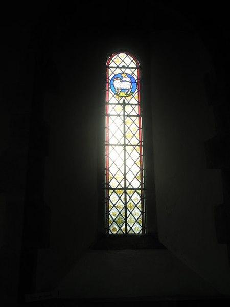 Window Glass: Simple Stained Glass Window