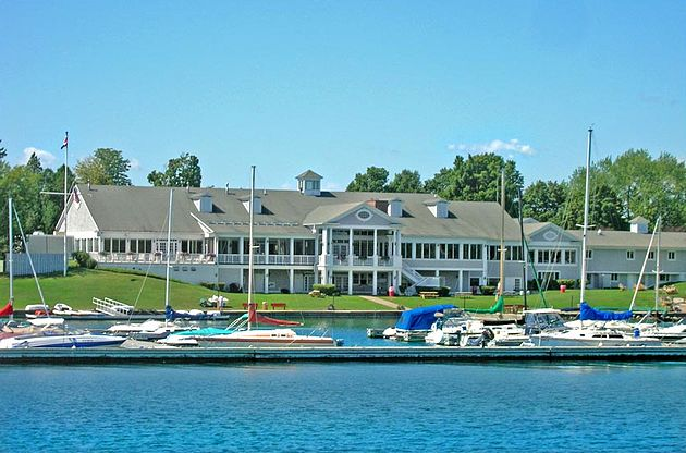 The Skaneateles Country Club 1887 On Lake