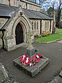Skegby War Memorial, Near entrance to St Andrews Church, Mansfield Road, Skegby (4).jpg