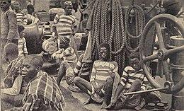Schwarzer Sklave Weißer Meister