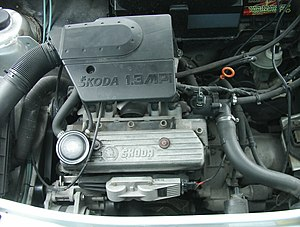 Škoda Felicia - 1,3 MPI engine