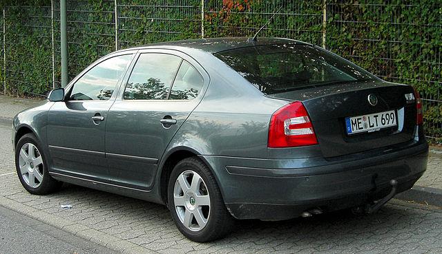 Skoda Octavia II rear 20100923