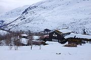 Skogadalsbøen mountain lodge in Jotunheimen National Park.jpg