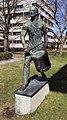 Skulptur Martin-Buber-Str 6 (Zehld) Der Trommler&Walter Schmarje&1913.jpg