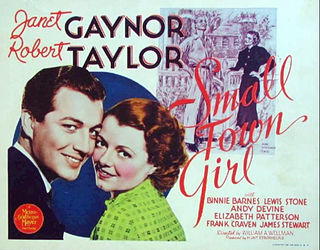 <i>Small Town Girl</i> (1936 film) 1936 film by William A. Wellman, Robert Zigler Leonard