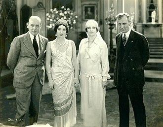 John Francis Dillon (director) - John Francis Dillon, Pauline Starke, Elinor Glyn, and Smedley Butler