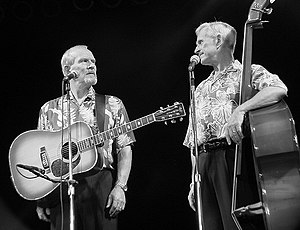 Smothers Brothers performing in 2004.