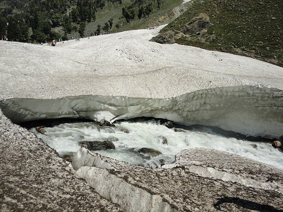 Snow Bridge in Chandanwari